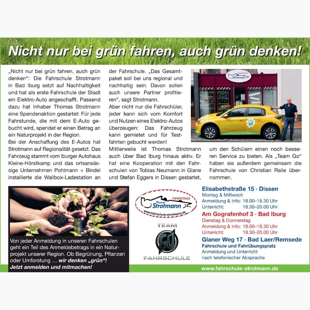 Nicht Nur Bei Grün Fahren, Auch Grün Denken..